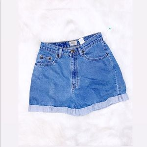 Bass | Vintage Jean High wasted Shorts
